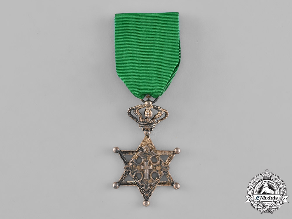 Ethiopia, Empire. An Order of the Seal of Solomon, Knight, c.1900