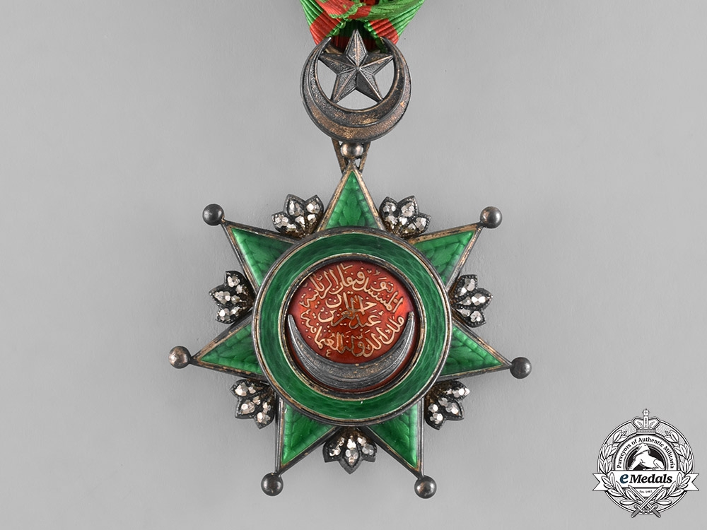 Turkey, Ottoman Empire. An Order of Order of Osmanieh, 4th Class Officer, c.1910