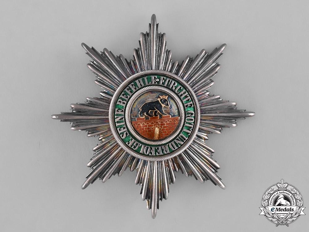 Anhalt, Duchy. A House Order of Albert the Bear, Grand Cross, c.1900