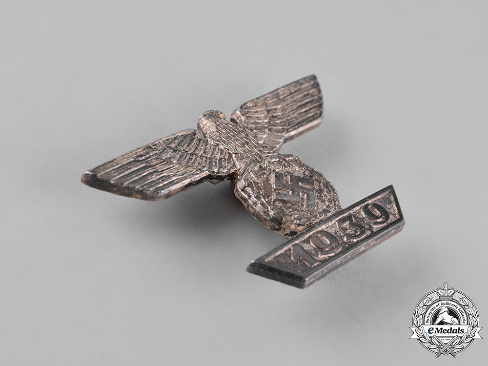 Germany. A Clasp to the Iron Cross 1939 First Class, Second Type, by Uncommon Maker Förster & Barth