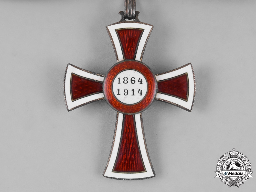 Austria, Empire. An Honour Decoration of the Red Cross, Second Class, on Ladies Ribbon