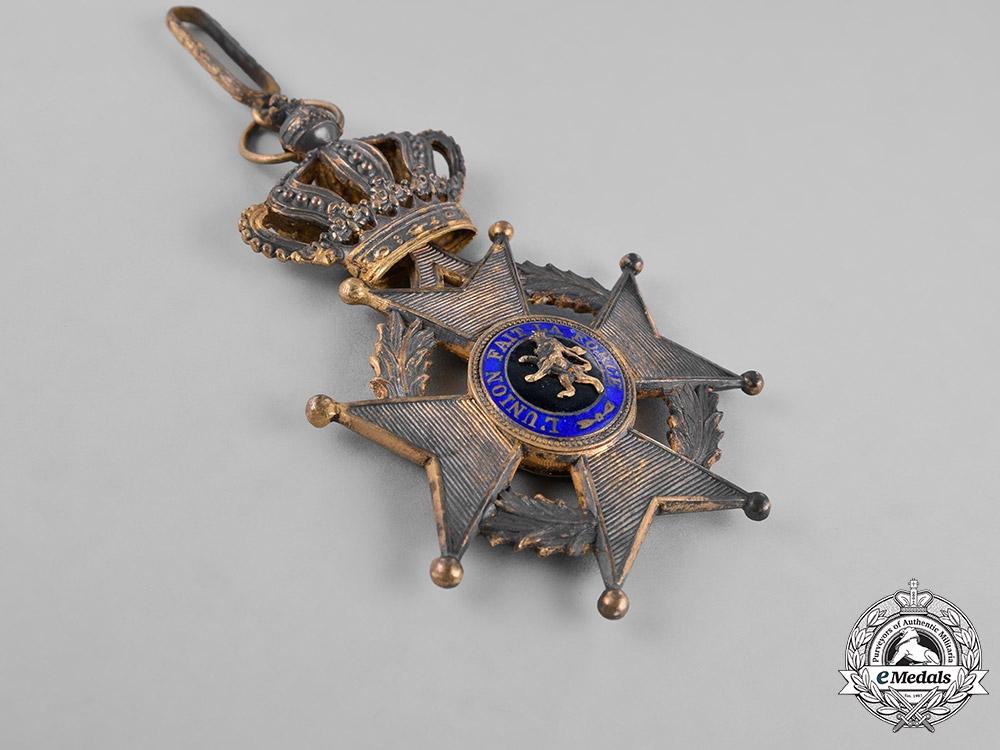Belgium, Kingdom. An Order of Leopold II, Commander's Badge, c.1910
