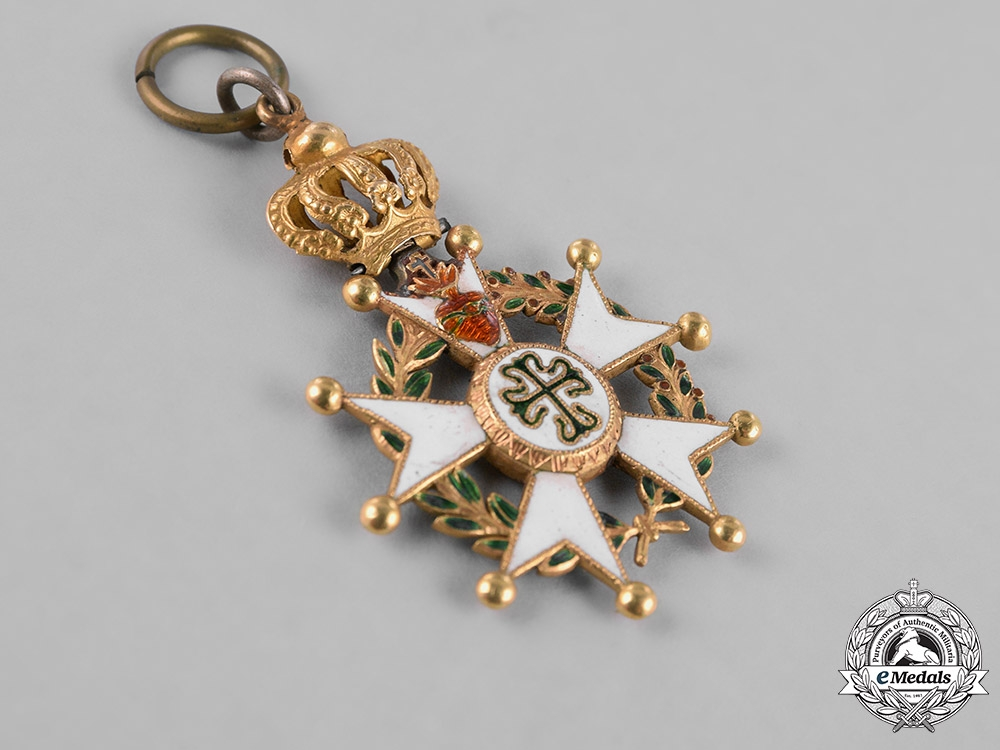 Brazil, Empire. An Imperial Order of St. Benedict of Avis in Gold, Knight c.1823