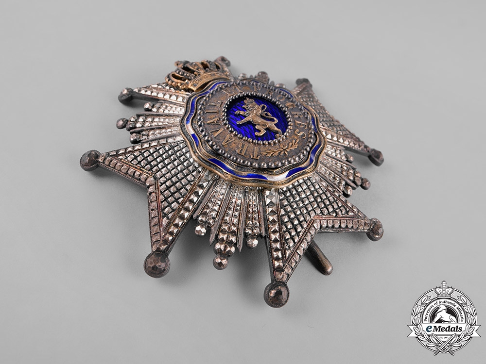Belgium, Colonial. A Royal Order of the Lion, Grand Officer, c.1900