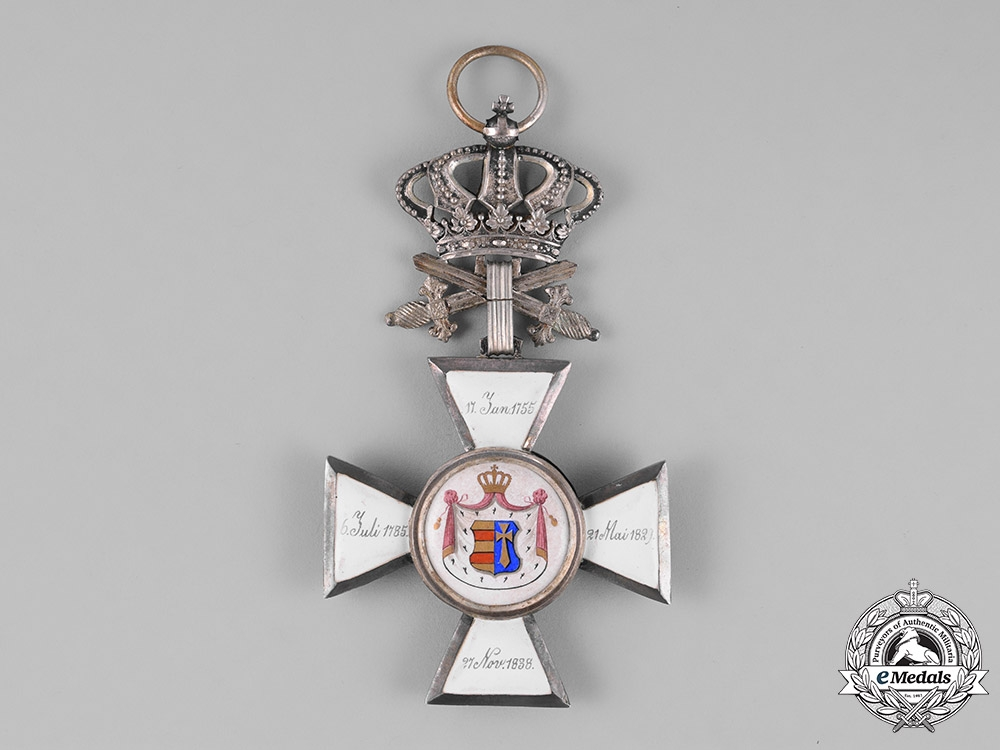 Oldenburg, Grand Duchy. A House and Merit Order of Peter Frederick Louis, Grand Cross, by Lameyer, c.1900