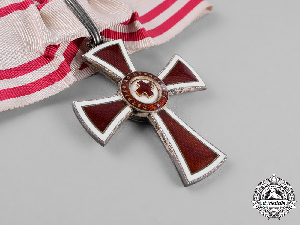 Austria, Empire. An Honour Decoration of the Red Cross, First Class, c.1914
