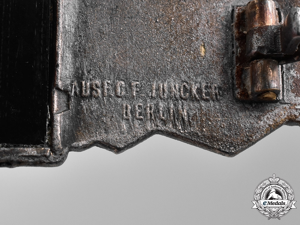 Germany, Wehrmacht. A Wehrmacht Close Combat Clasp, Silver Grade, by C. E. Juncker, Type 1.13.1