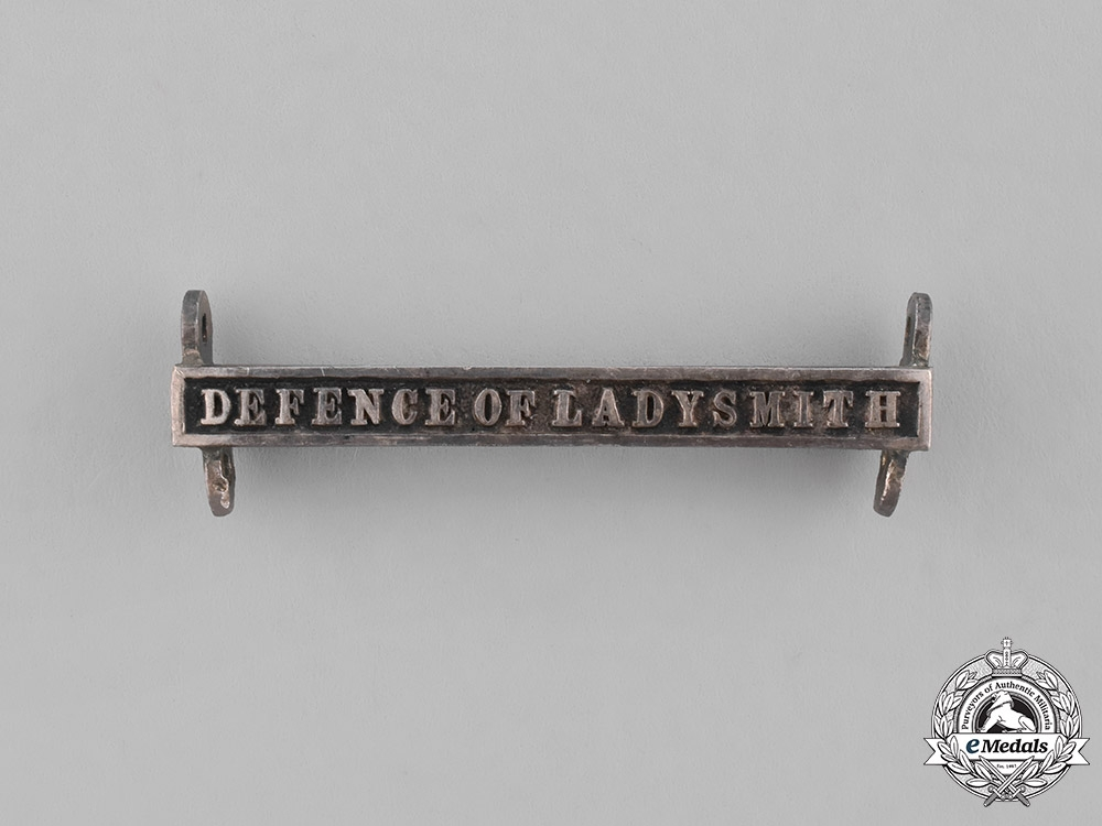 United Kingdom. A Defence of Ladysmith Clasp for the Queen's South Africa Medal