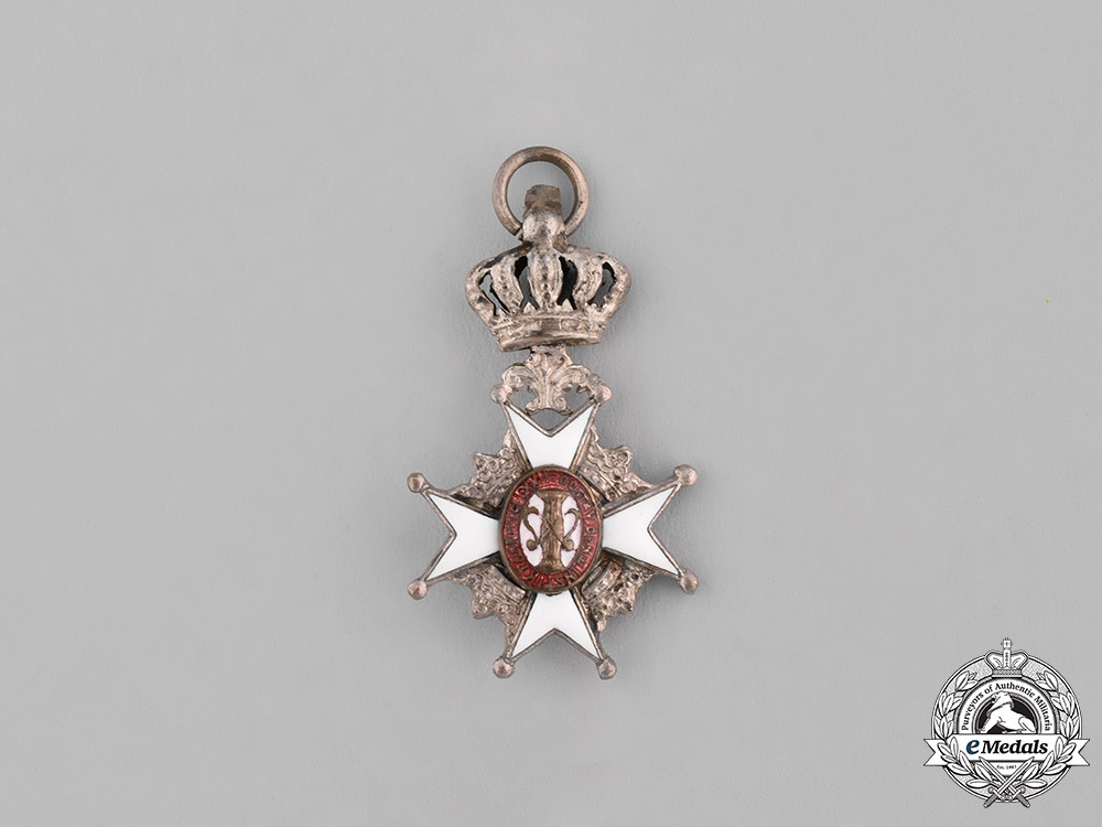Sweden. A Miniature Order of Vasa, II Class Knight