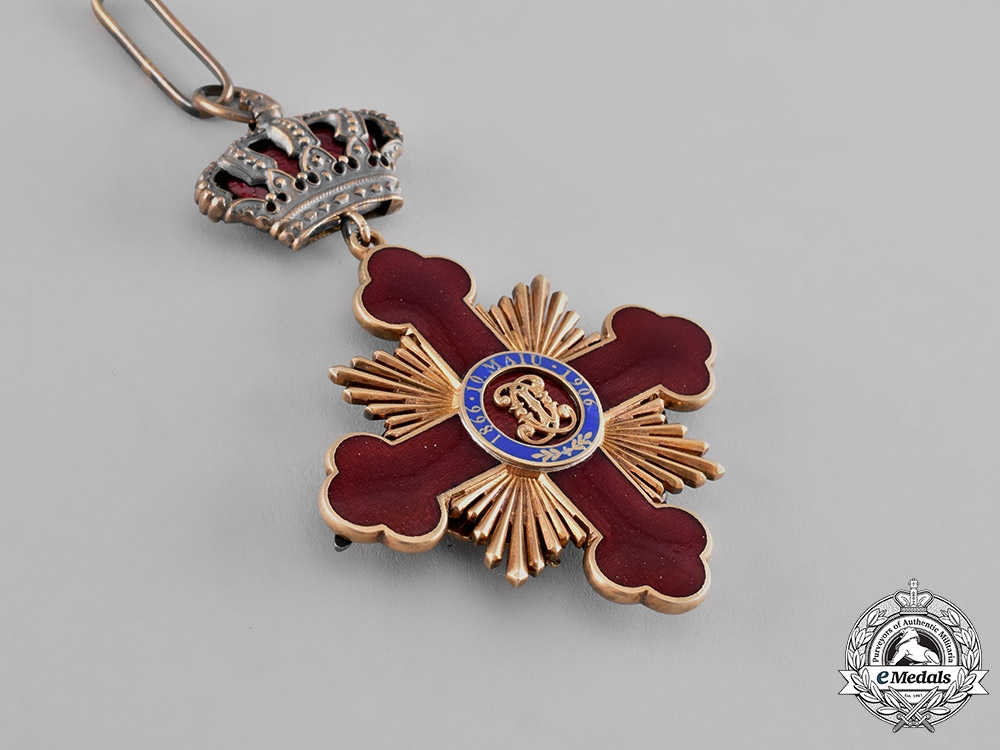 Romania, Kingdom. An Order of Carol I, Commander's Cross, c.1918