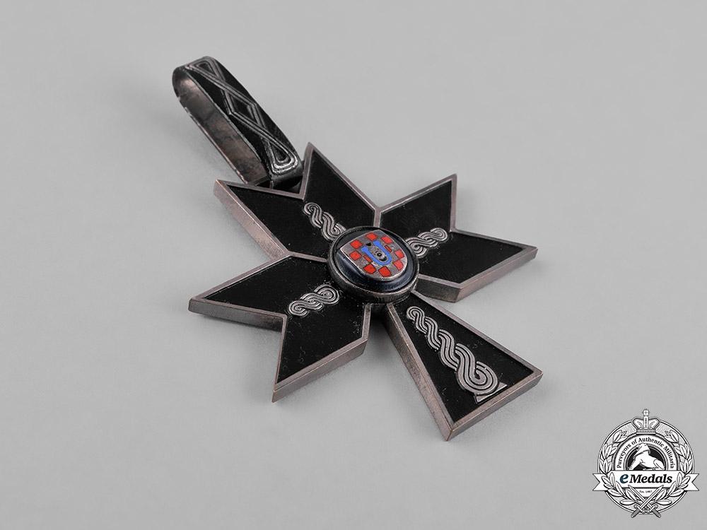 Croatia. An Order of the Iron Trefoil, I Class, c.1941