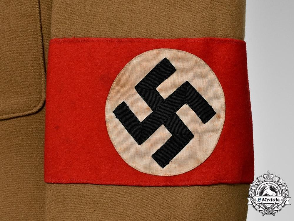 Germany, NSDAP. An Orts Level Stellenleiter Uniform