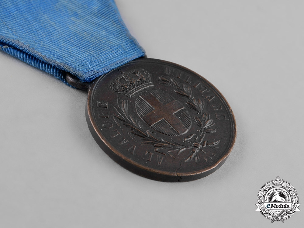 Italy, Kingdom. A Second War Medal for Military Valour, Bronze Grade, c.1938