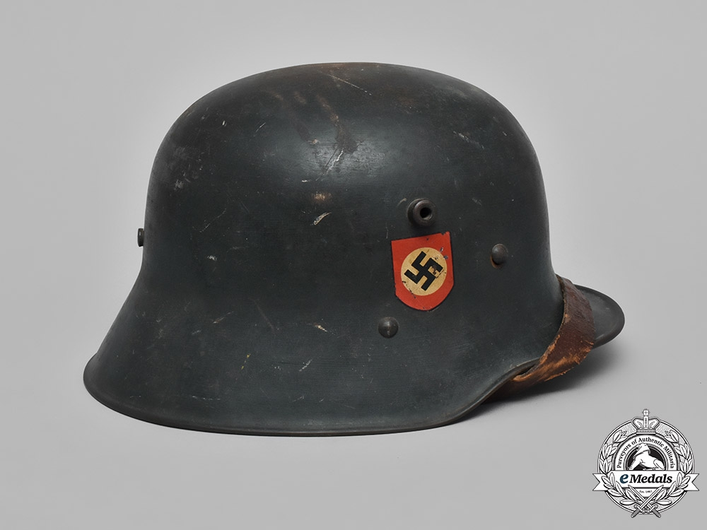 Germany, Police. An M18 Transitional Austrian Ordnungspolizei Helmet