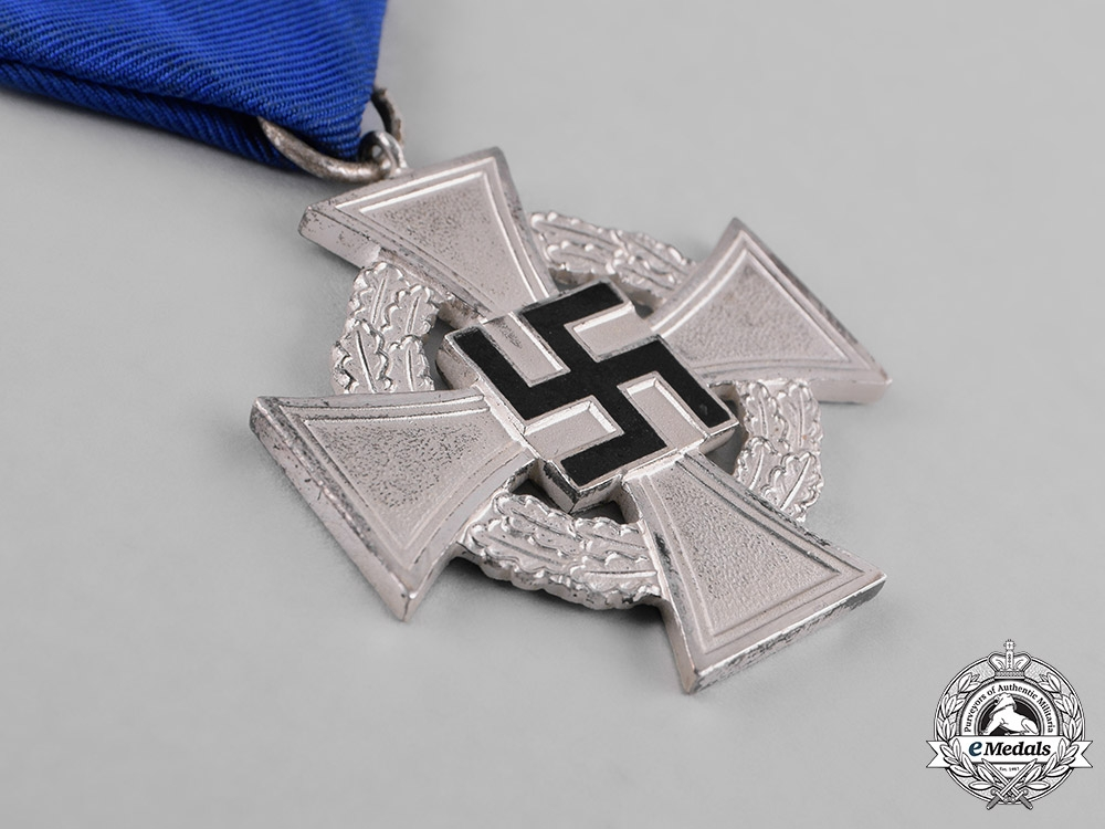 Germany, Third Reich. A Civil Faithful Service Medal for 25 Years of Service
