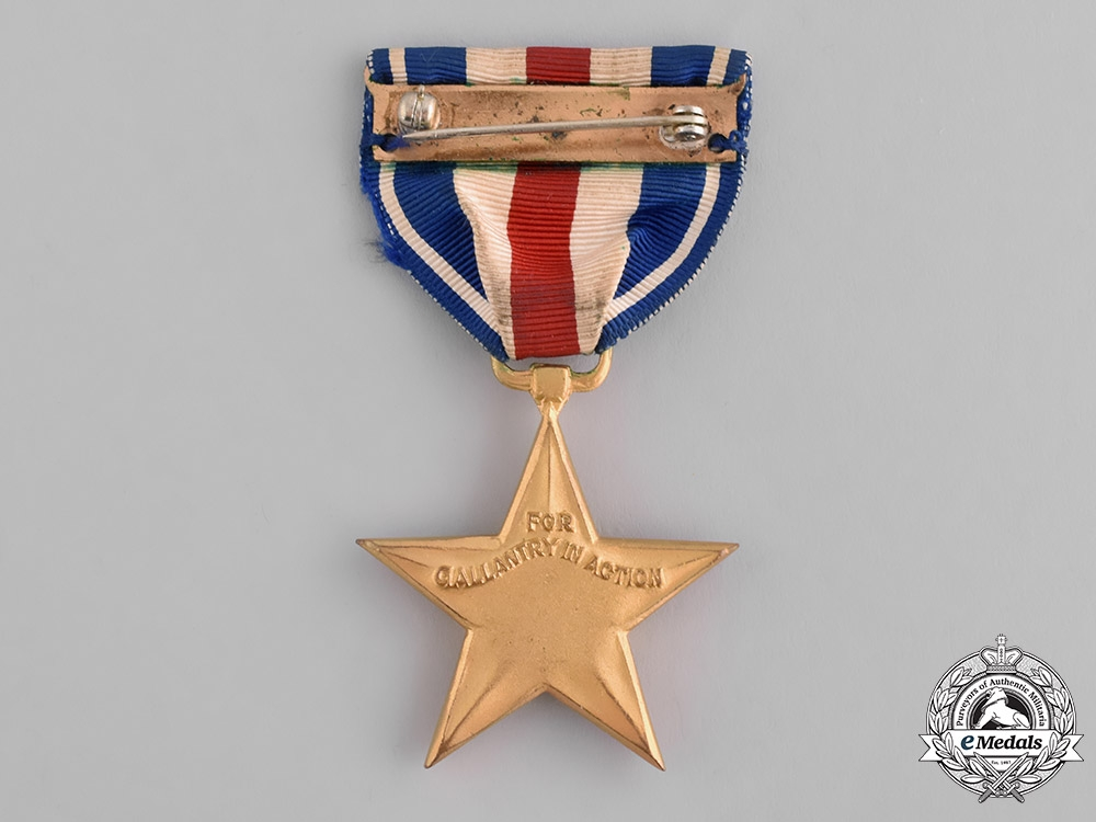 United States. A Silver Star, Numbered