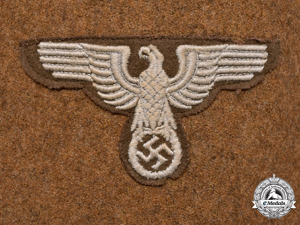 Germany, RMfdbO. A Reich Ministry for the Occupied Eastern Territories (RMfdbO) Officer's Tunic
