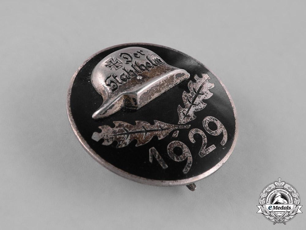 Germany, Weimar. A 1929 Stahlhelm Members's Badge