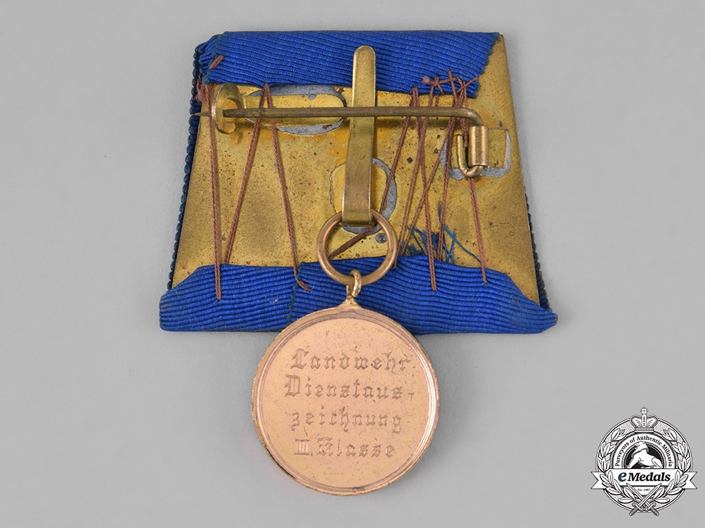 Prussia, Kingdom. Reserve Army Service Award Second Class, 1913-1920 Issue