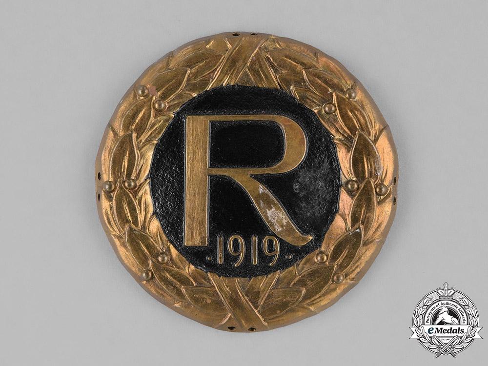 Germany, Weimar. A Crown Prince Rupprecht Cap Badge