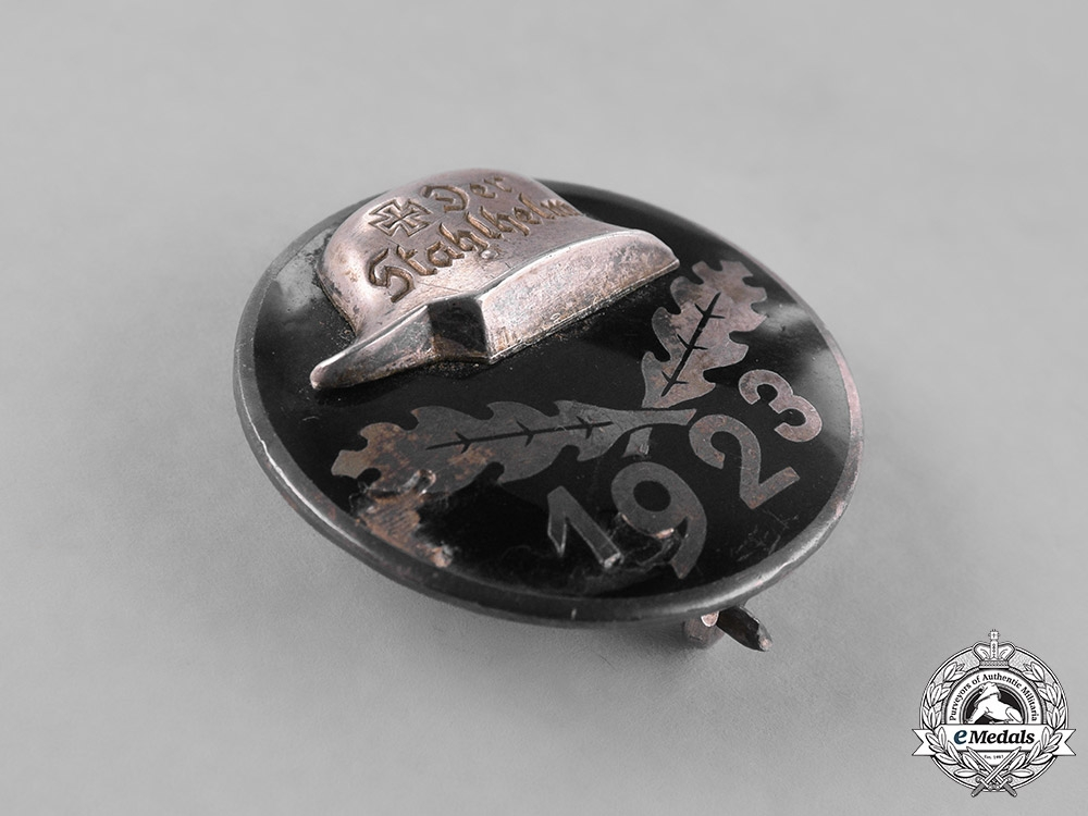 Germany, Weimar. A 1923 Stahlhelm Members's Badge