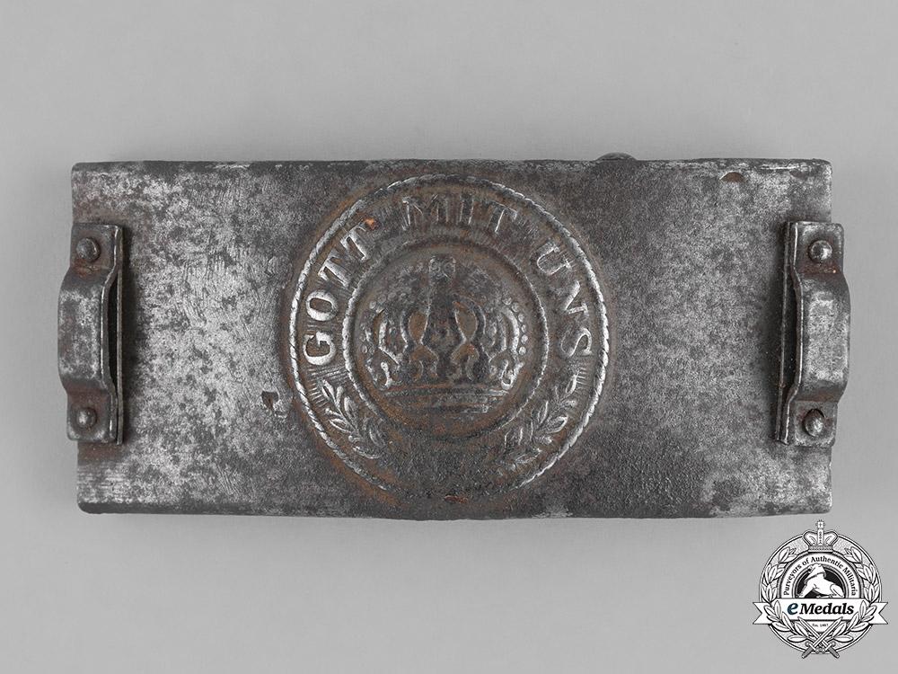Germany, Empire. A Telegrapher's Belt Buckle, c. 1917