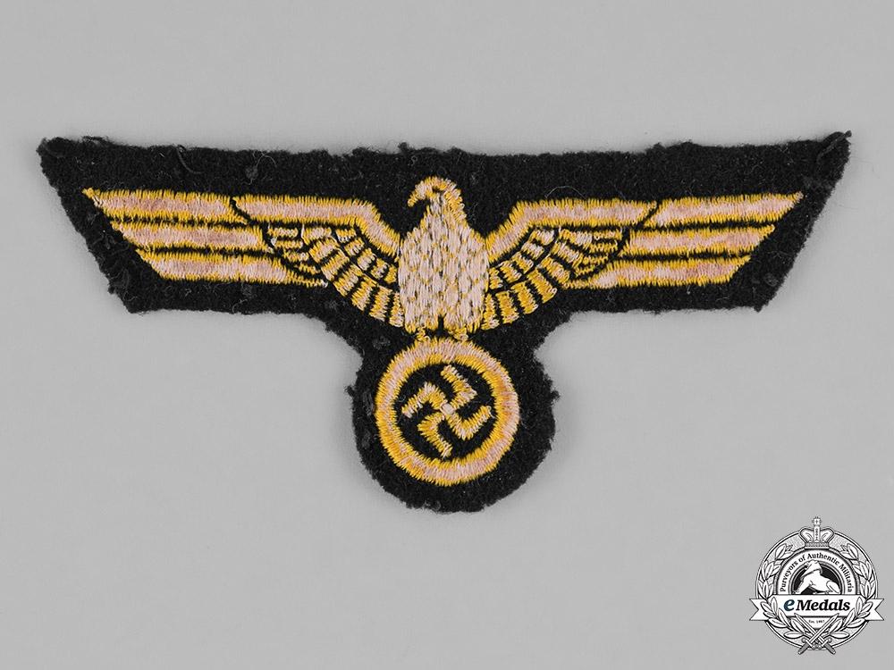 Germany, Kriegsmarine. A Kriegsmarine EM/NCO Breast Eagle