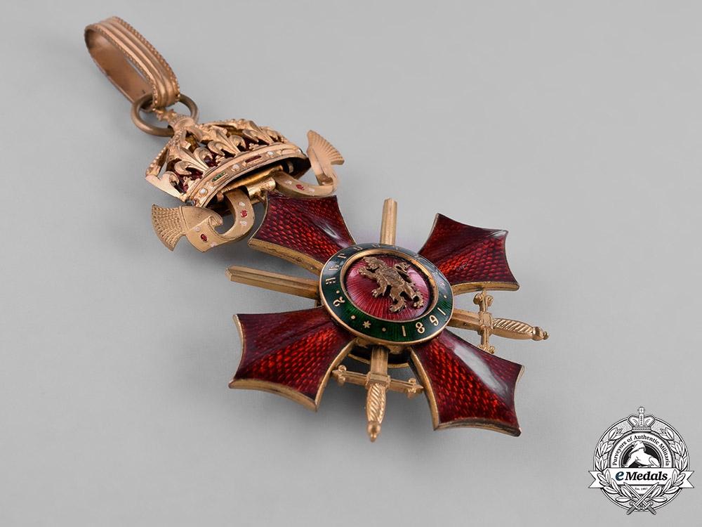 Bulgaria, Kingdom. An Order of Military Merit, III Class, Commander, c.1918