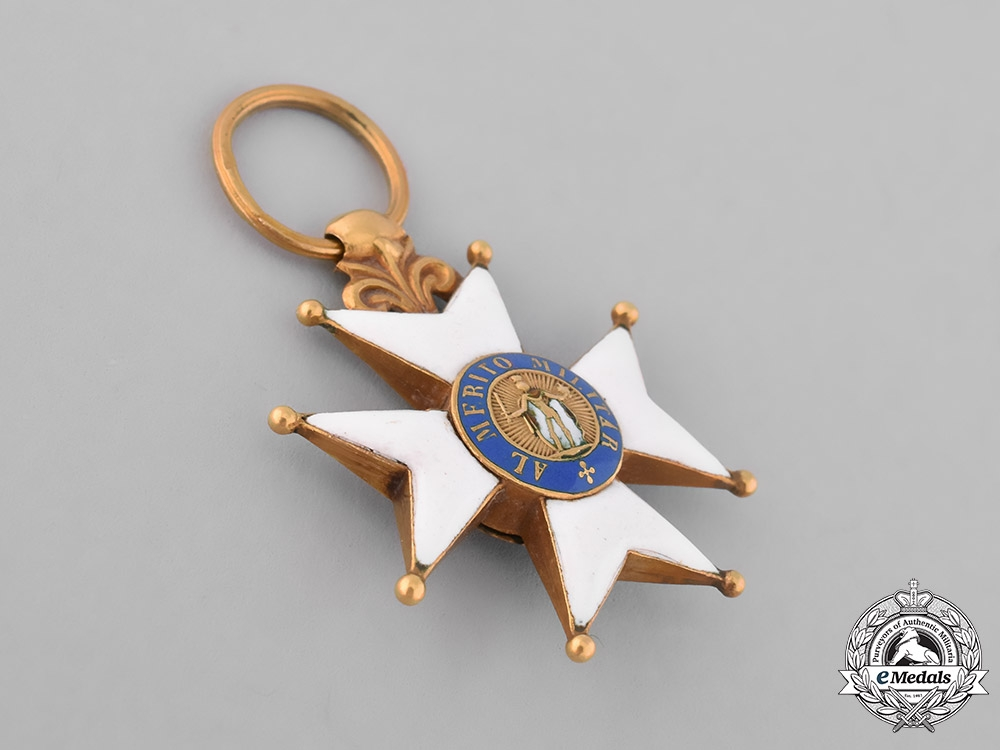 Spain, Kingdom. A Royal &  Military Order of Saint Ferdinand in Gold, Officer's Cross, c.1830