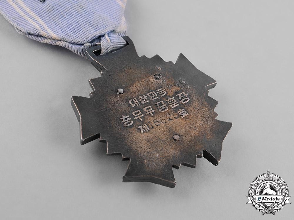 "Korea, Republic, An Order of Military Merit, ""Chungmu"" III Class Breast Badge, c.1955"