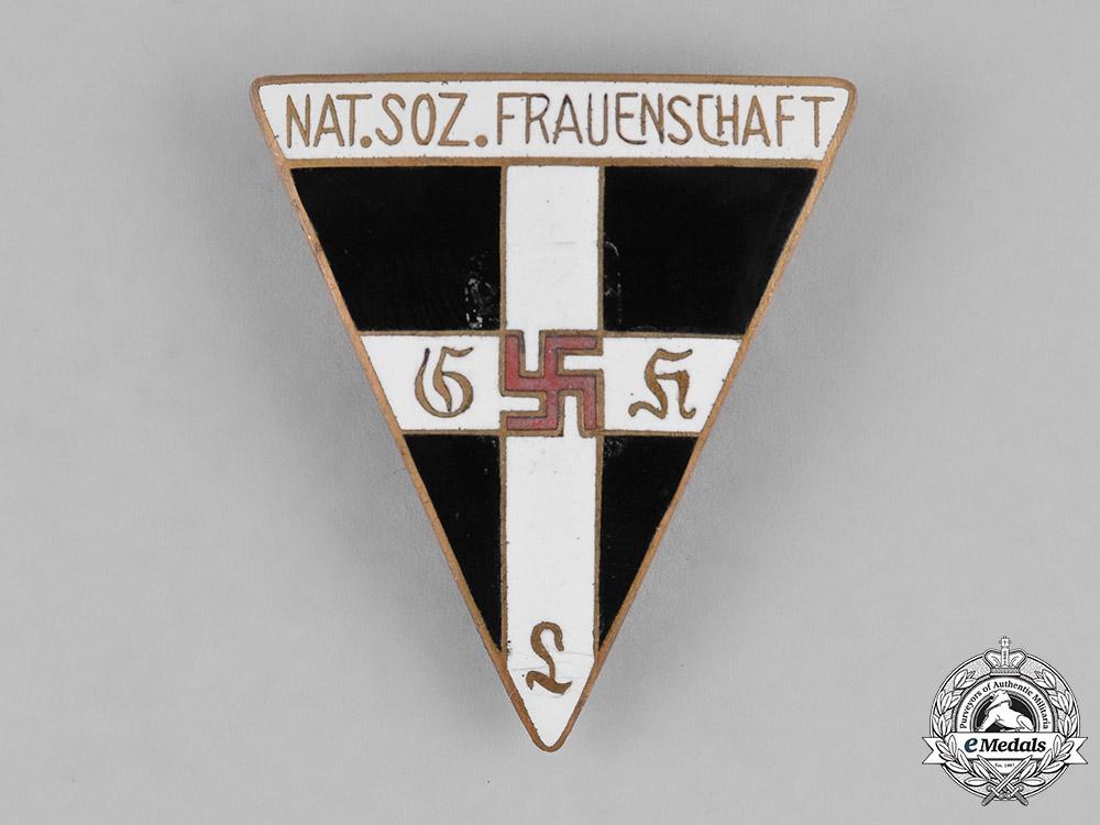 Germany, NS-Frauenschaft. A National Socialist Women's League (NS-Frauenschaft) Membership Badge