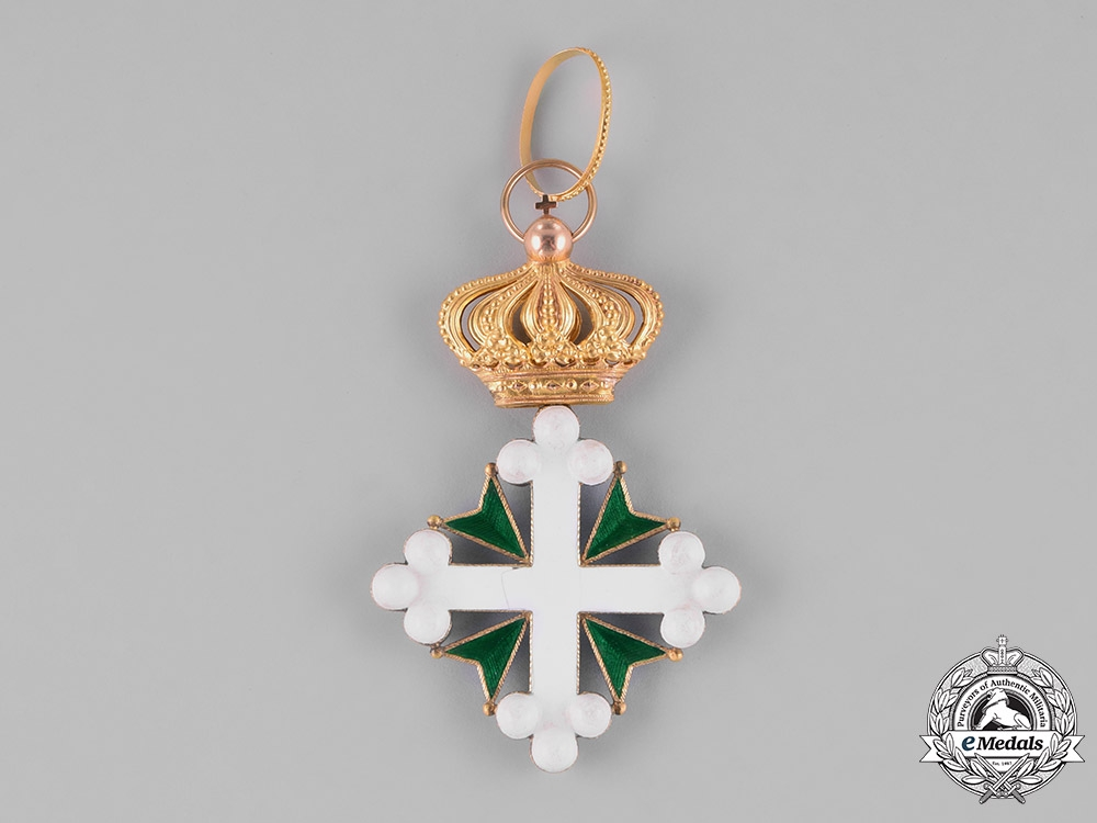 Italy, Kingdom. An Order of St. Maurice and St. Lazarus in Gold, I Class Commander