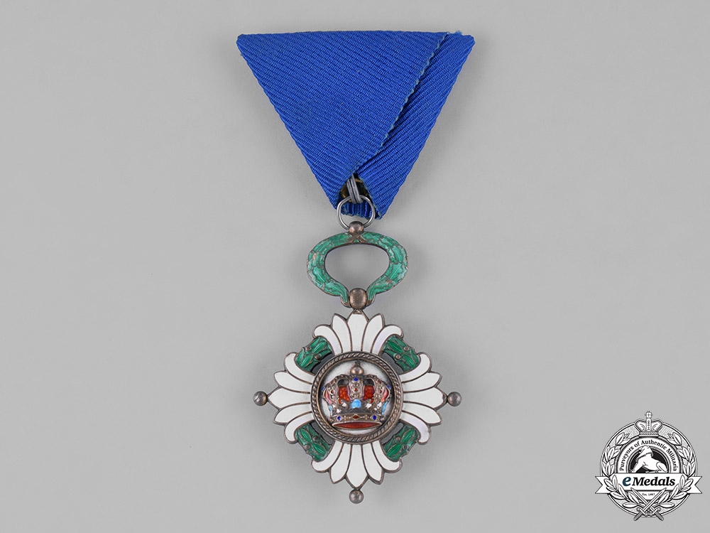 Yugoslavia, Kingdom. An Order of the Crown, V Class Knight, c.1940