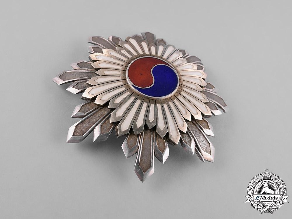 Korea, Republic. An Order of the Taegeuk, II Class Star, c.1910
