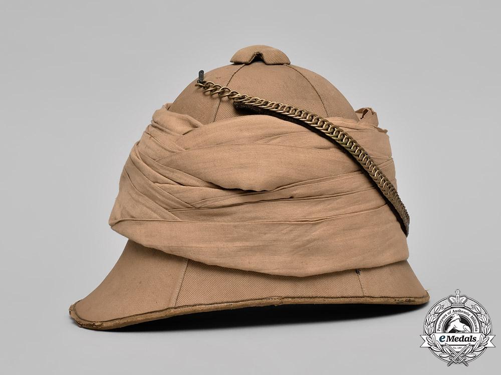9091236f78d78 United Kingdom. A Boer War Period British Army Pith Helmet