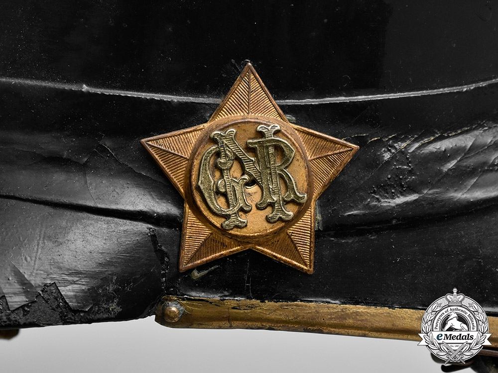 Portugal, GNR. A Portuguese National Republican Guard (Guarda Nacional Republicana) Pickelhaube,