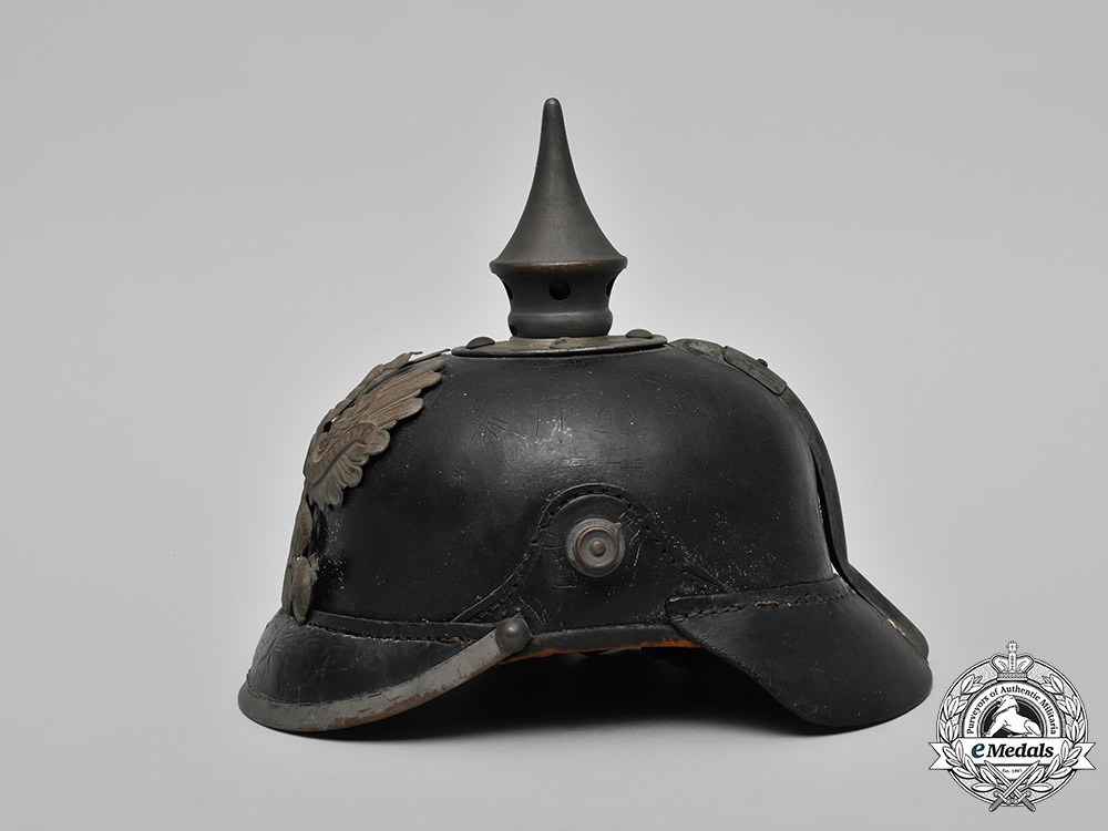 Prussia, State. A Heer (Army) EM's Pickelhaube