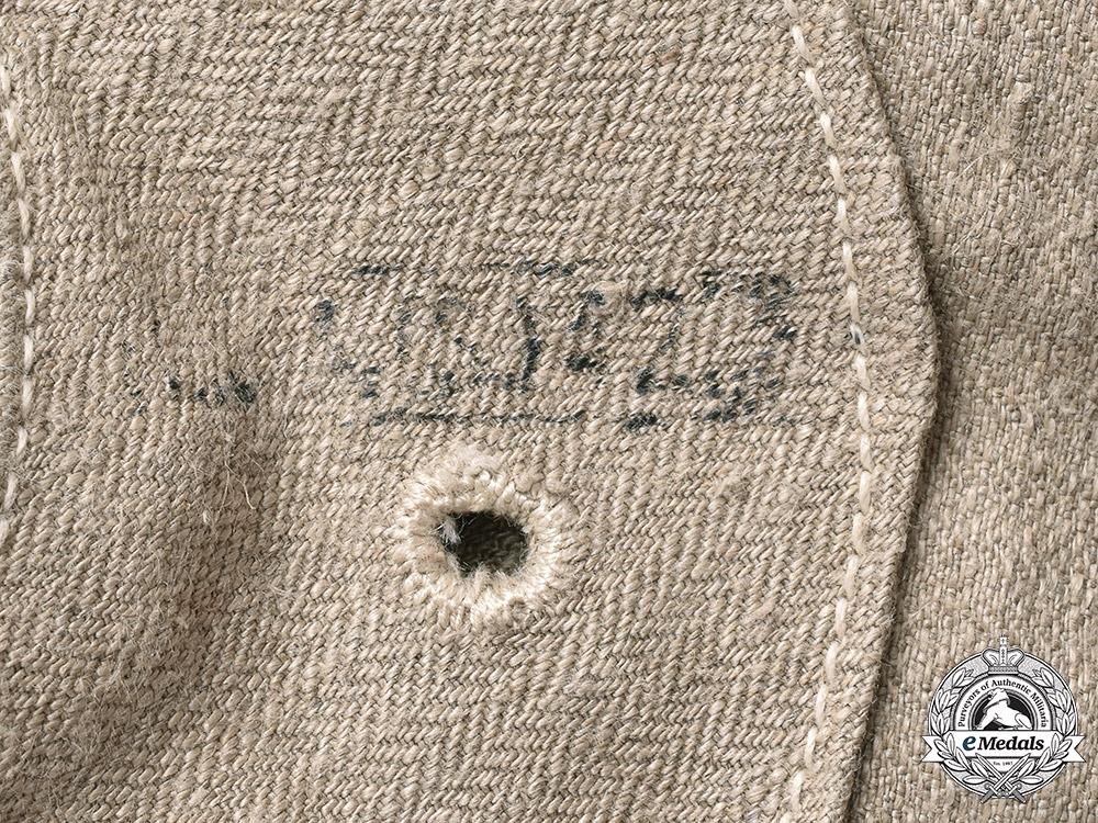 Germany, SS. A SS-BW Marked Waffen-SS Drill Jacket