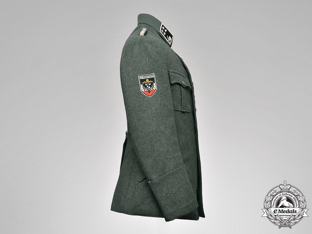 Germany, Stahlhelm. A Bezirksleiter Tunic Named to Wilhelm Münzer