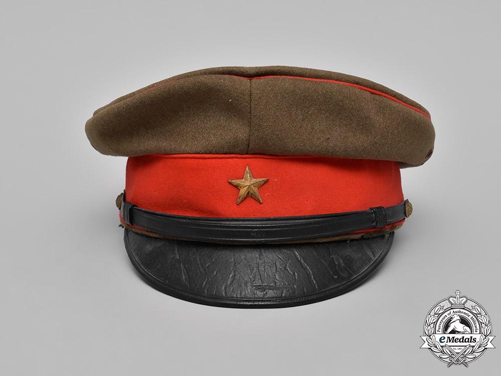 Japan, Imperial. An Army Officer's Visor Cap
