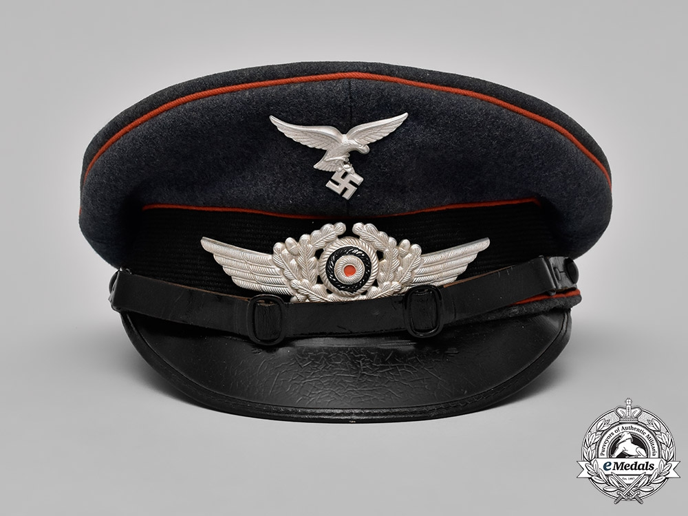 Germany, Luftwaffe. An Artillery NCO's Vicor Cap, by Robert Lubstein