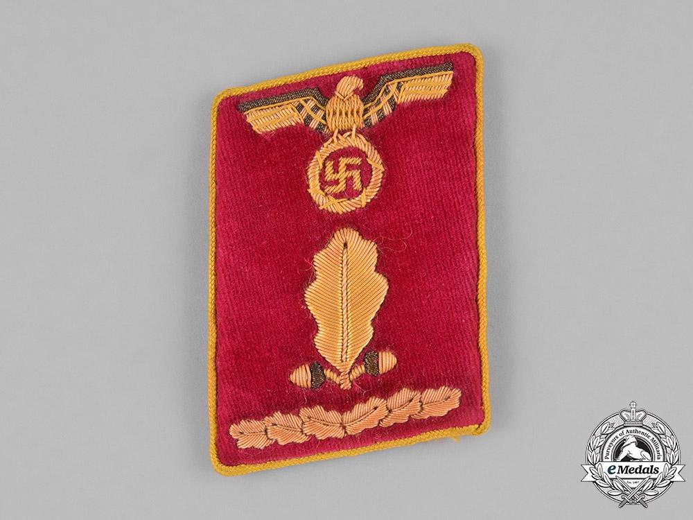 Germany, NSDAP. A NSDAP Reichs Level Oberabschnittsleiter Collar Tab