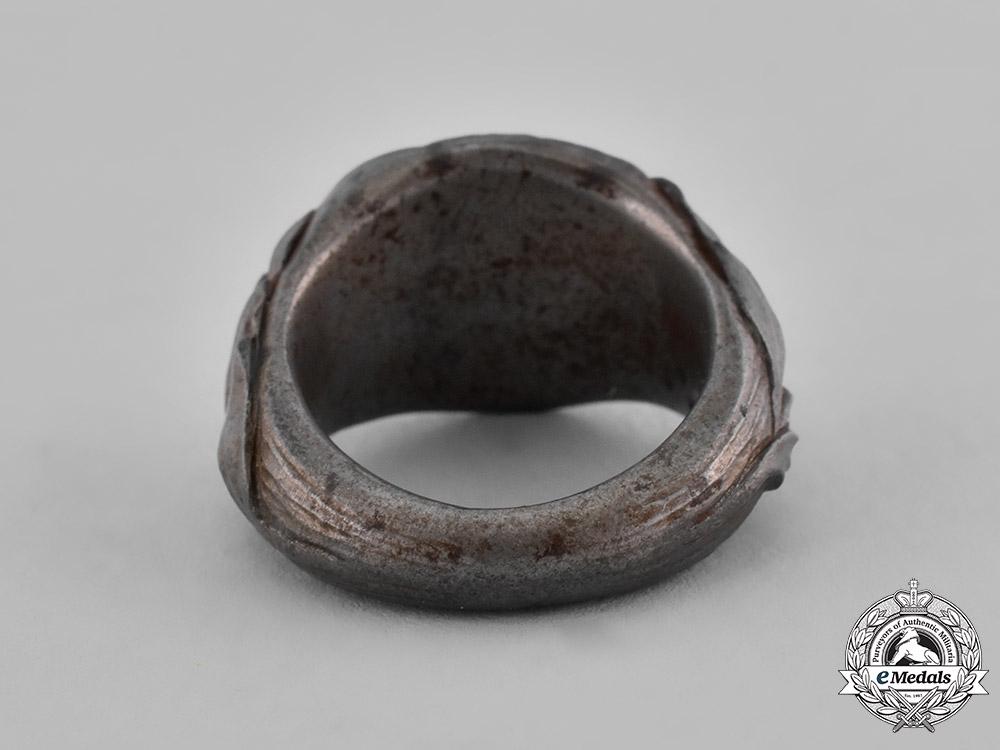Austrian, Imperial. A First War Period Austrian Trench Art Ring