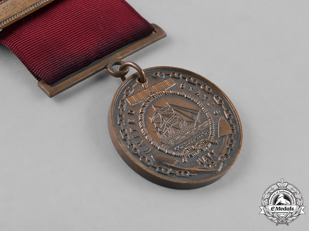 United States. A Naval Campaign Medal Group to Chief Water Tender, Larry Stanley Meyer, USS Raleigh
