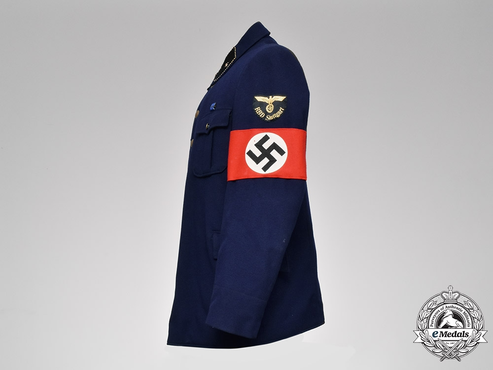 Germany, RBD. A Reichsbahndirektion (Railway Directorate) Stuttgart Pay Official's Tunic