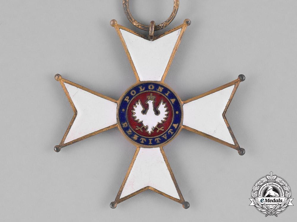 Poland, Republic. An Order of Polonia Restituta, III Class Commander, c.1925