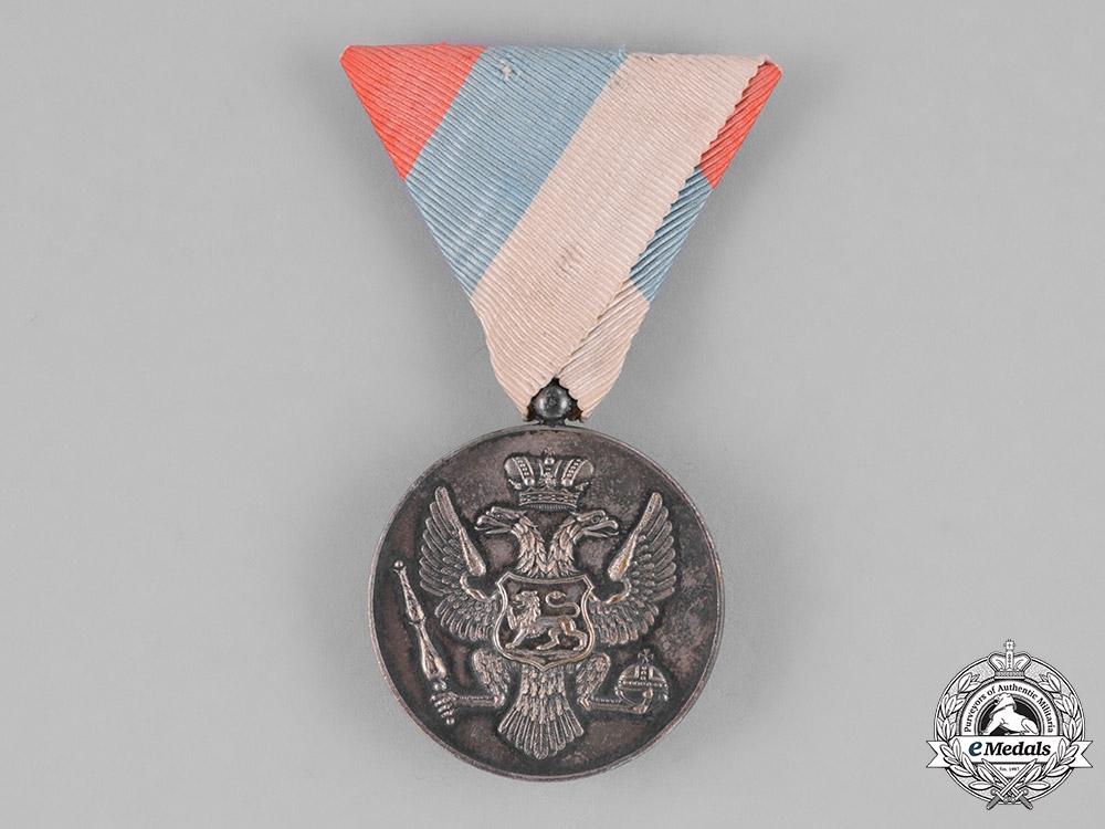 Montenegro, Kingdom. A Bravery Medal