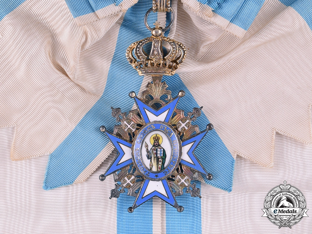Serbia, Kingdom. An Order of St. Sava, I Class Grand Cross, c.1935