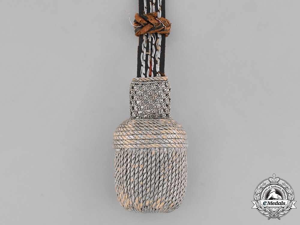 Germany, Wehrmacht. A Wehrmacht Officer's Sword Portepee