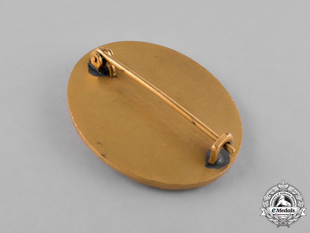 Germany, Wehrmacht. A Gold Grade Wound Badge, with Case